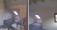 Renovierung eines Dachgeschosses